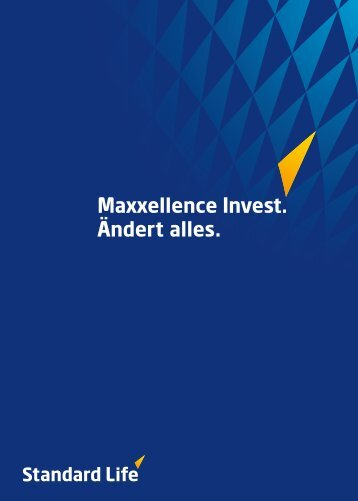 Broschüre Maxxellence Invest - Standard Life
