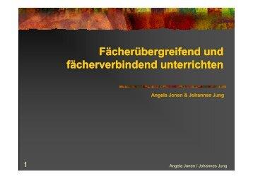 Präsentation zum Thema (pdf, 3MB) - Standardsicherung NRW