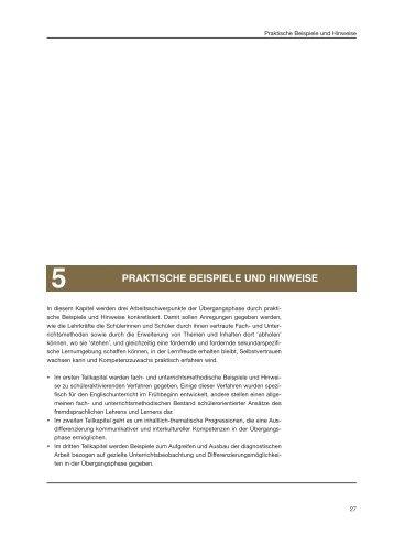 PRAKTISCHE BEISPIELE UND HINWEISE - Standardsicherung NRW