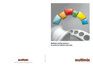 Multimix coating systems – A variety for industry and trade. - Standox
