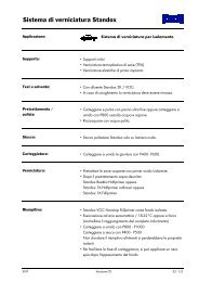 Sistema di verniciatura per isolamento - Standox