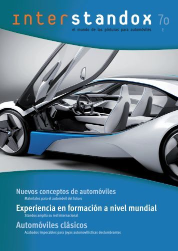 Materiales para el automóvil del futuro - Standox