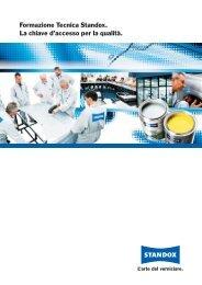 Formazione Tecnica Standox. La chiave d'accesso per la qualità.