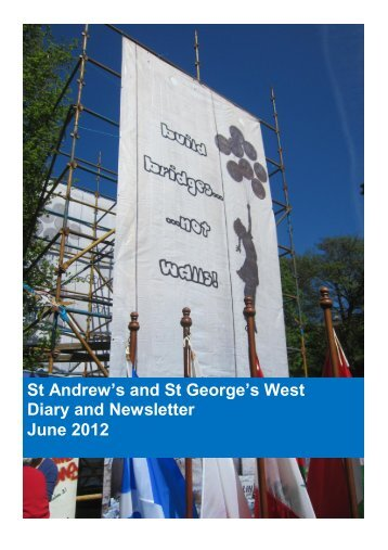 St Andrew's and St George's West Diary and Newsletter June 2012