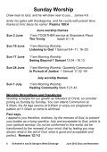 St Andrew's and St George's West Diary and Newsletter June 2012 - Page 6