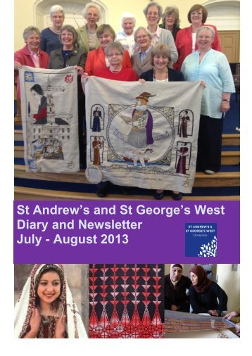 August 2013 - St Andrew's and St George's