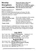 August 2013 - St Andrew's and St George's - Page 5