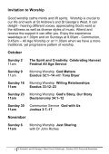 St Andrew's and St George's West Diary and Newsletter October 2011 - Page 7