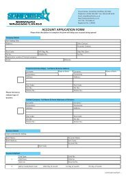 Account Application Form 2009:Layout 1.qxd - Staniforths.co.uk