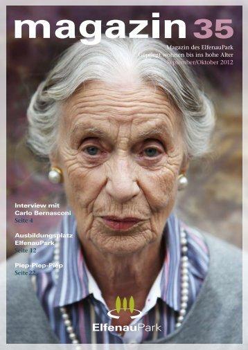 elfenaupark magazin ausgabe 35 - stanislav kutac imagestrategien ...