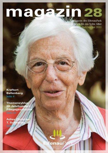 elfenaupark magazin ausgabe 28 - stanislav kutac imagestrategien ...
