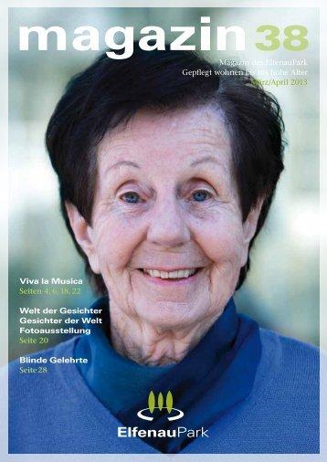 elfenaupark magazin ausgabe 38 - stanislav kutac imagestrategien ...