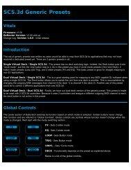 SCS.3d Generic Presets Guide - Stanton