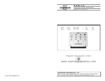 ESM-11 - Stanton