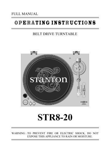 STR8-20 - Stanton