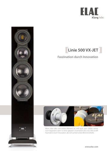 Linie 500 VX-JET Faszination durch Innovation - Elac