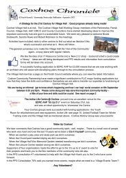Coxhoe Chronicle September 2012.pdf - Parish and Town Council ...
