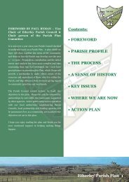 Etherly Parish Plan A4 Spread - Parish and Town Council Websites ...