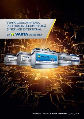 Catalog Varta. - BrioBit