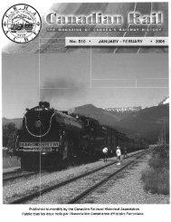 Canadian Rail_no510_2006 - Le musée ferroviaire canadien