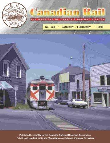Canadian Rail_no528_2009 - Le musée ferroviaire canadien