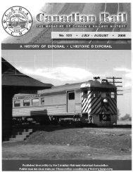 Canadian Rail_no525_2008 - Le musée ferroviaire canadien