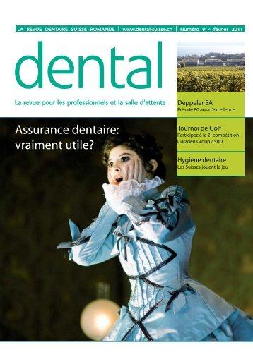 Assurance dentaire: vraiment utile? - dental suisse