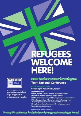 STAR TEN LEAFLET - Student Action for Refugees