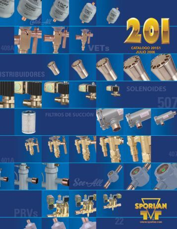 CATALOGO 201S1 JULIO 2006