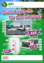 Coole Angebote für den Sommer!