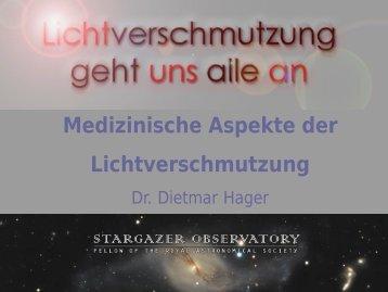 vortrag - Dietmar Hager