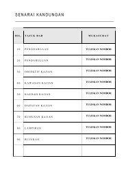 SENARAI KANDUNGAN - Sekolah Tuanku Abdul Rahman, Ipoh
