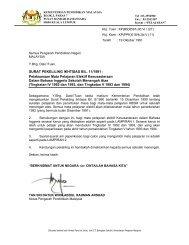 SURAT PEKELILING IKHTISAS BIL. 11/1991 - Kementerian ...