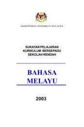 Sukatan Pelajaran Bahasa Melayu Sekolah Rendah