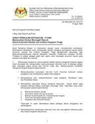 SURAT PEKELILING IKHTISAS BIL. 17/1998 - Kementerian ...