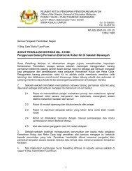 SURAT PEKELILING IKHTISAS BIL. 3/1998 - Kementerian ...