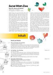 SWZ 89 (7/2007), Markt und Märkte - STARK Verlag