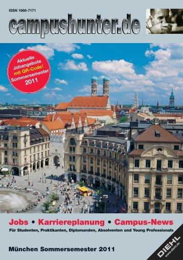 Ausgabe München Sommersemester 2011 - campushunter.de