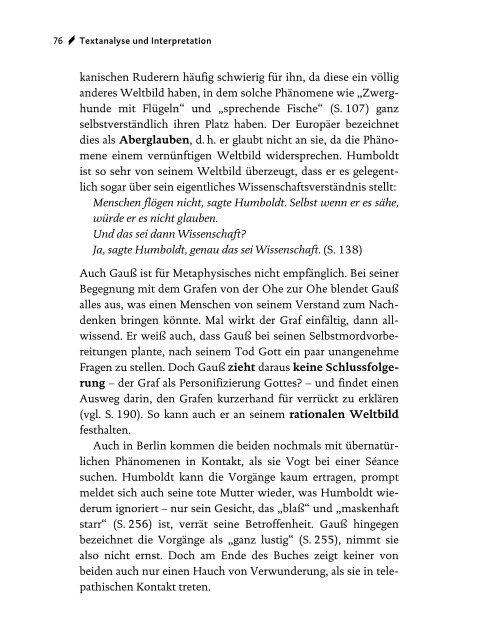Daniel Kehlmann: Die Vermessung der Welt - STARK Verlag