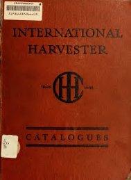 International windrow hay loader - Starke Pferde