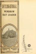 International windrow hay loader - Starke Pferde - Page 5