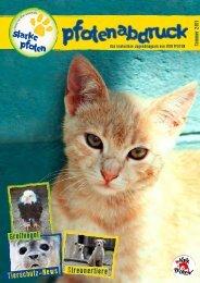 Streunertiere Tierschutz-News - Starke Pfoten