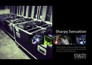 Sharpy Sensation - Starlite Productions