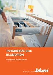 TANDEMBOX plus BLUMOTION - Starman doo