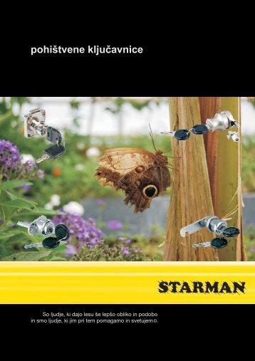 pohištvene ključavnice - Starman doo