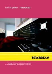 lu~i in pribor - razprodaja - Starman doo