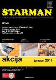 Novosti v programu ORGA-LINE Blum Digitalno kukalo SISO Luč ...