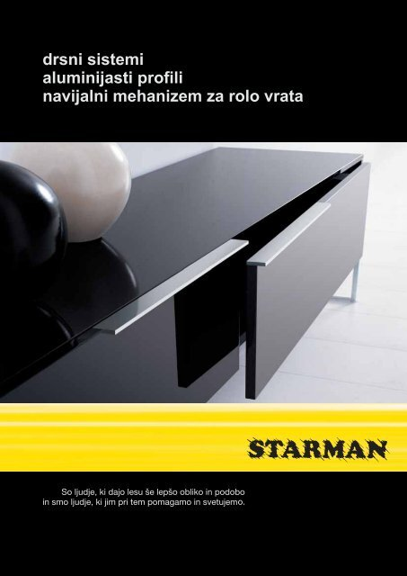 drsni sistemi aluminijasti profili navijalni mehanizem ... - Starman doo