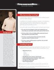Why Sponsorship Coaching? Coaching Program ... - Star Mazda