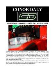 CONOR DALY.pdf - Star Mazda Championship